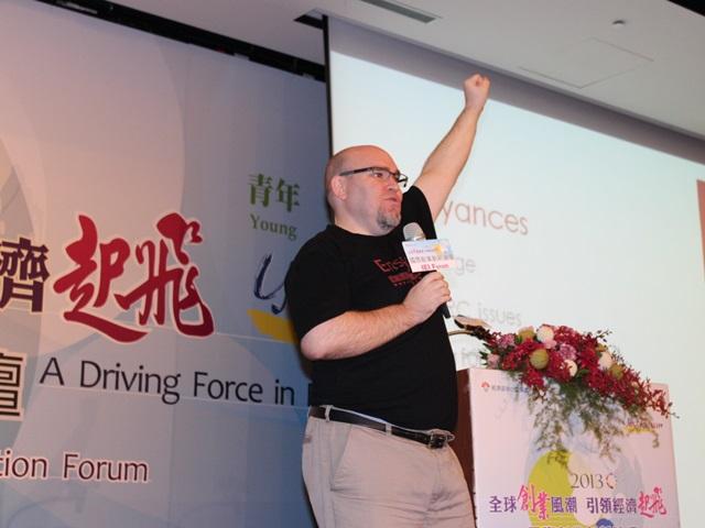 Elias給創業家:台灣的未來怎麼走?