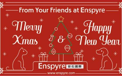 Merry Christmas! Enspyre 2017 Christmas Card