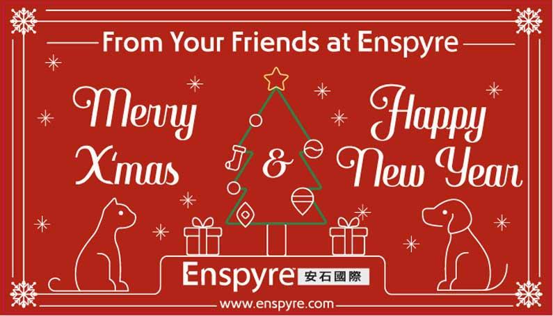 Merry Christmas! Enspyre 2017 Christmas Card