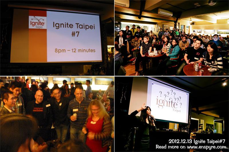Ignite Taipei7 Elias用五分鐘談25年創業史