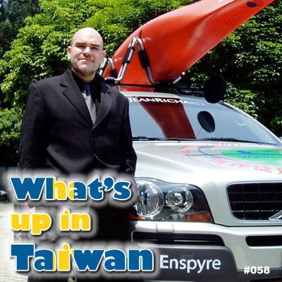 What's Up In Taiwan Interviews Elias Ek from Enspyre